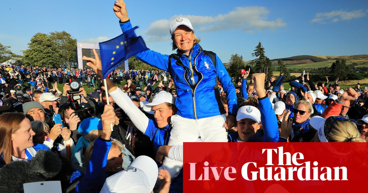 Solheim Cup 2019: Europe pip USA in dramatic finale – as it happened