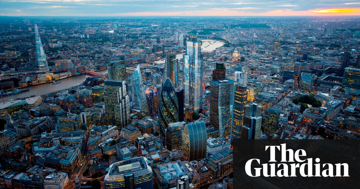 Is the only way up for London\'s skyline?   Art and design   The Guardian