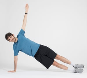 Alex Hern tests out exercise apps