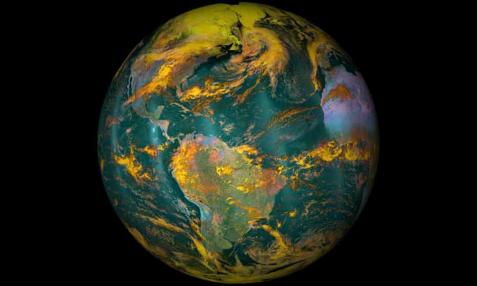 The Earth seen from space in an image released by Nasa in April 2016