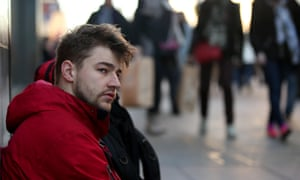 James Beavis has raised more than £30,000 by living on the streets of central London for a month.