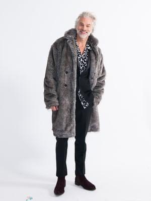 Model wears coat, £150, riverisland.com. Shirt, £85, and trousers, £128, allsaints.com. Boots, £195, russellandbromley.com.