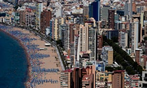 Benidorm council had previously warned tourists against 'uncivic' behaviour