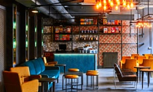 The New Road Hotel's Cereal Grind cafe, London.