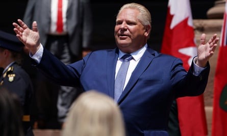 The move to scrap the program puts the Conservative government – led by Doug Ford – directly at odds with the federal government's bid to ensure provinces have a price on carbon in place by the end of 2018.