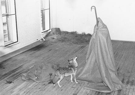 Joseph Beuys's I Like American and America Likes Me