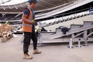 The only part of the stadium that remains is that which was supposed to be temporary (the upper tier), while the section that was to be permanent has been replaced (the bottom tier, swapped for new retractable seats).