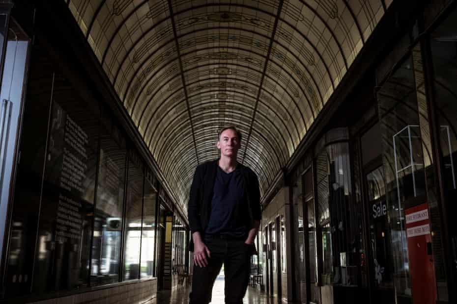 Architect Andrew Milward-Bason, a tenant in the Nicholas Building.