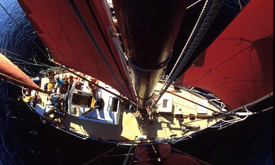 All at sea … the novel's action is largely confined below decks.