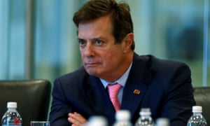 Paul Manafort listens during a round table discussion on security at Trump Tower in New York on 17 August 2016.