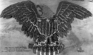 Human 'American Eagle' by Arthur Mole.