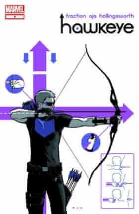 Hawkeye, by Matt Fraction and David Aja