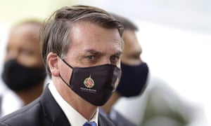 Bolsonaro is heard to say in the video: 'I'm not going to wait for [the federal police] to fuck my family and friends just for shits and giggles.'