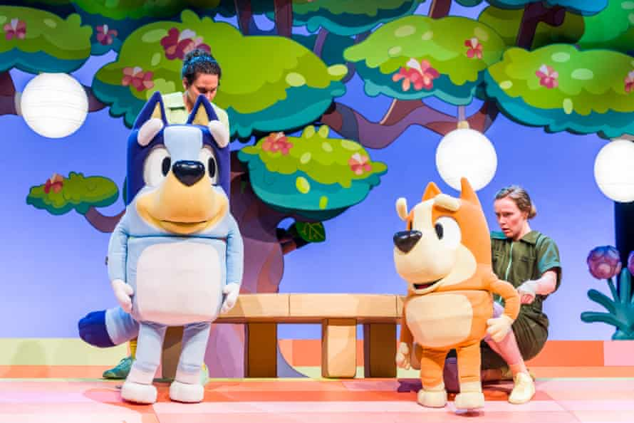 Bluey's Big Play, which premiered at Qpac in Brisbane, Australia on 22 December 2020.