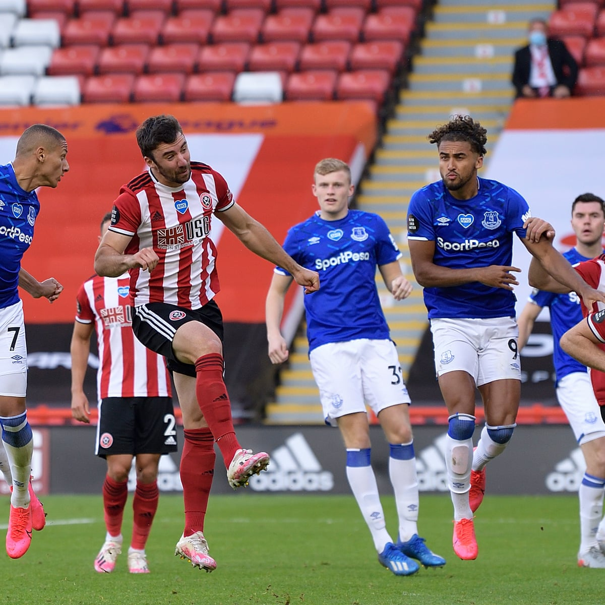 Everton end Sheffield United's European hopes with Richarlison winner |  Premier League | The Guardian