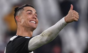 Cristiano Ronaldo's Juventus will restart the season one point clear of Lazio at the top of Serie A.