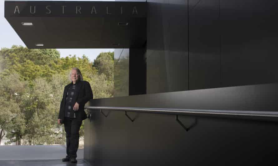 John Denton, architect, at the Australian pavilion at the Venice Biennale 2015