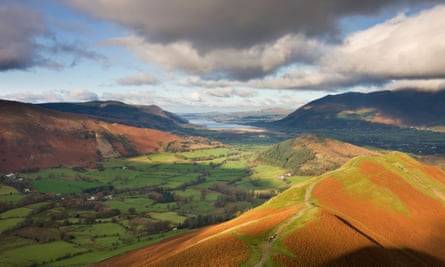 Newlands valley in the Lake District