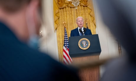 Biden Remarks on the Terror Attack in Afghanistan, Washington, District of Columbia, USA - 26 Aug 2021<br>Mandatory Credit: Photo by REX/Shutterstock (12372256aq) United States President Joe Biden delivers remarks in the East Room of the White House in Washington, DC. Multiple explosions near Hamid Karzai International Airport in Kabul, Afghanistan wounded many and killed at least 12 American service members. Biden Remarks on the Terror Attack in Afghanistan, Washington, District of Columbia, USA - 26 Aug 2021