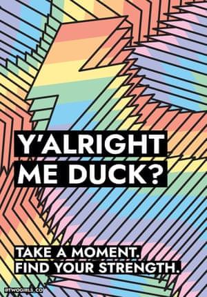 Y'Alright Me Duck?