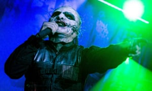 Corey Taylor performs with Slipknot in Moscow.
