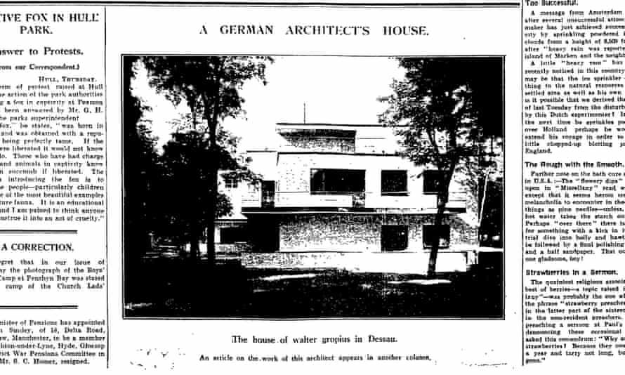 The Guardian, 11 June 1930.