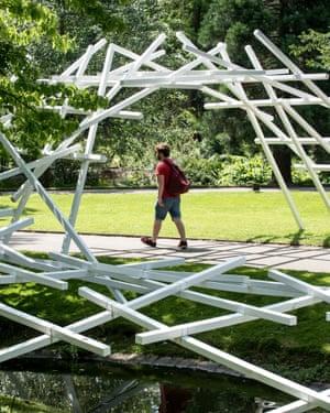 Jardin des Plantes- La racinante designed by Johann le Guillerm, Nantes. June 2019. photo Tim Fox