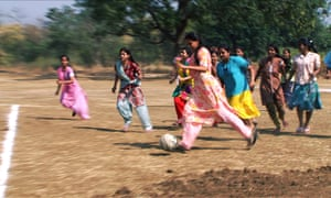 In one episode, a woman is attacked with acid by a local boy after she joins a mixed-sex football team.