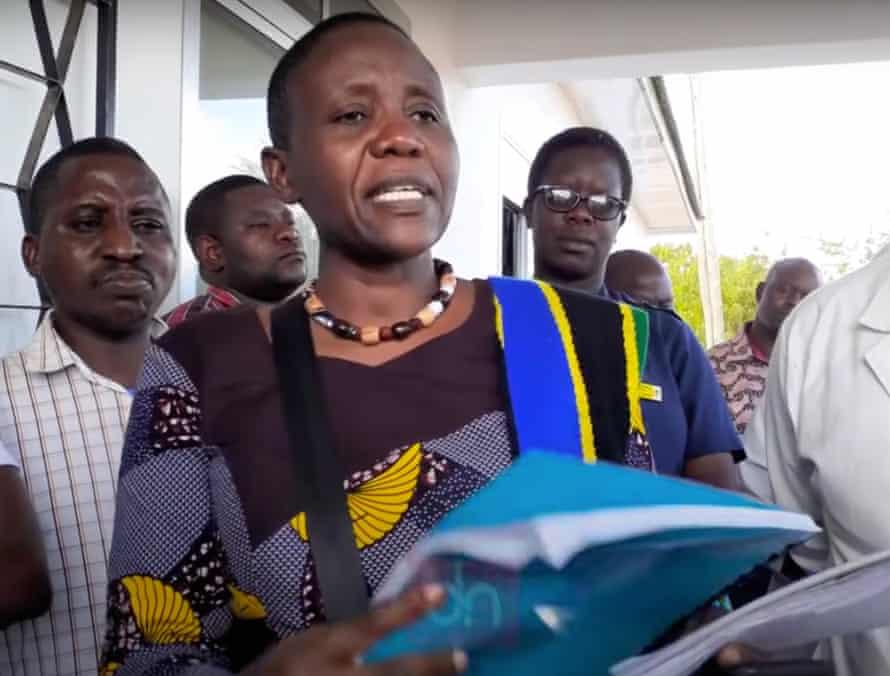Dorothy Gwajima, Health minister, Tanzania.