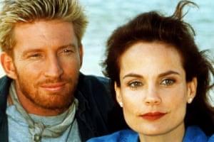 David Wenham and Sigrid Thornton in the original ABC series Seachange