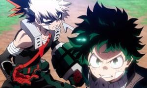 Eager greenhorns … My Hero Academia: Heroes Rising