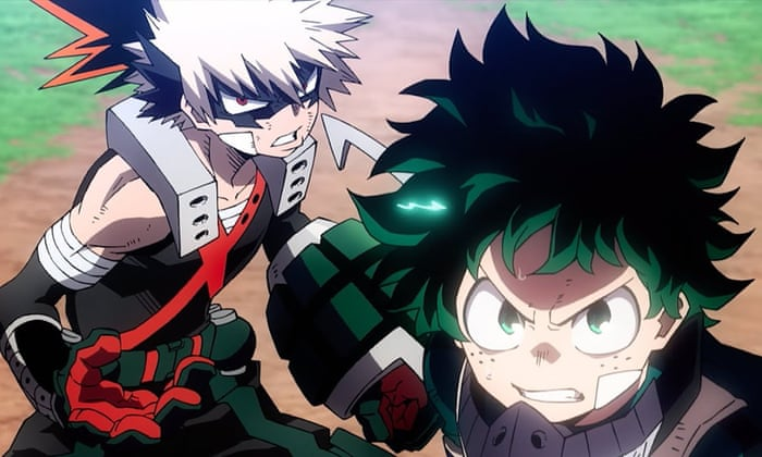 My Hero Academia Heroes Rising Review Workies Save The World Animation In Film The Guardian