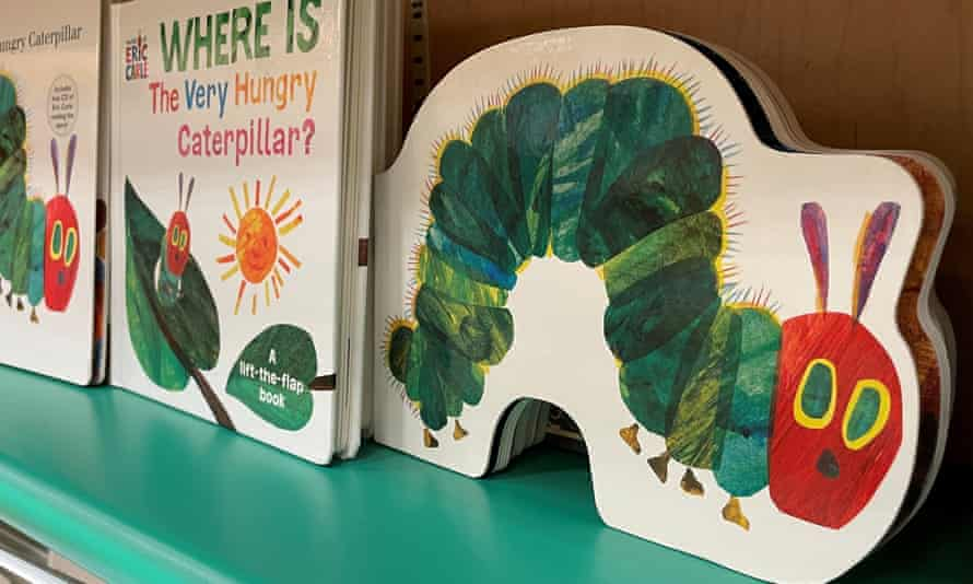 With its adaptability to different formats, The Very Hungry Caterpillar has sold more than 55m copies around the world.