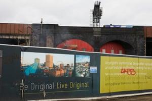The Angelgate development on Dantzic Street, Manchester.