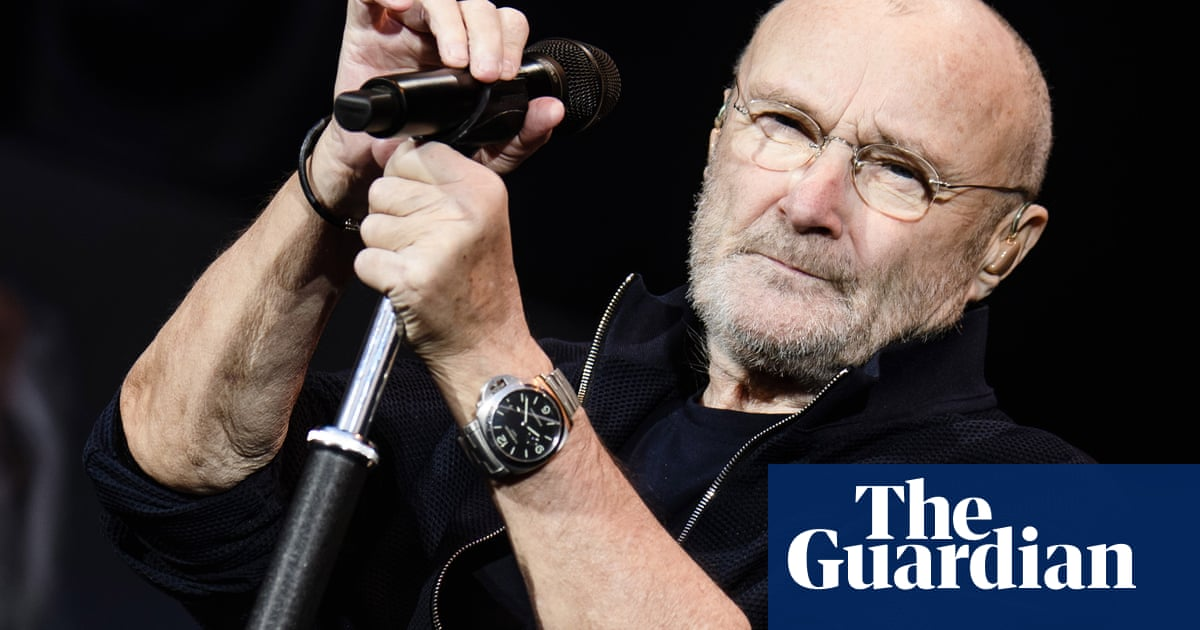 Musician Phil Collins can 'barely hold' a drumstick | the Guardian