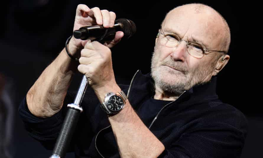 Phil Collins performing in 2019 s