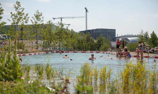 Kings Cross swimming pond