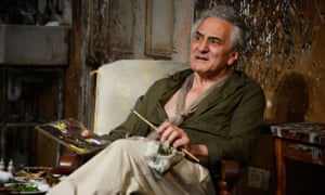It's in the eyes... Henry Goodman as Lucian Freud in Looking at Lucian.