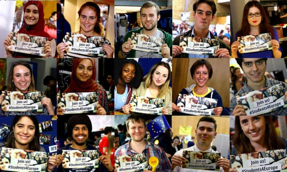 Students for Europe campaign