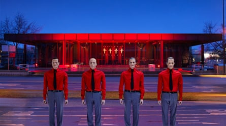 Showroom dummies: the Kraftwerk robots, Berlin, 2015