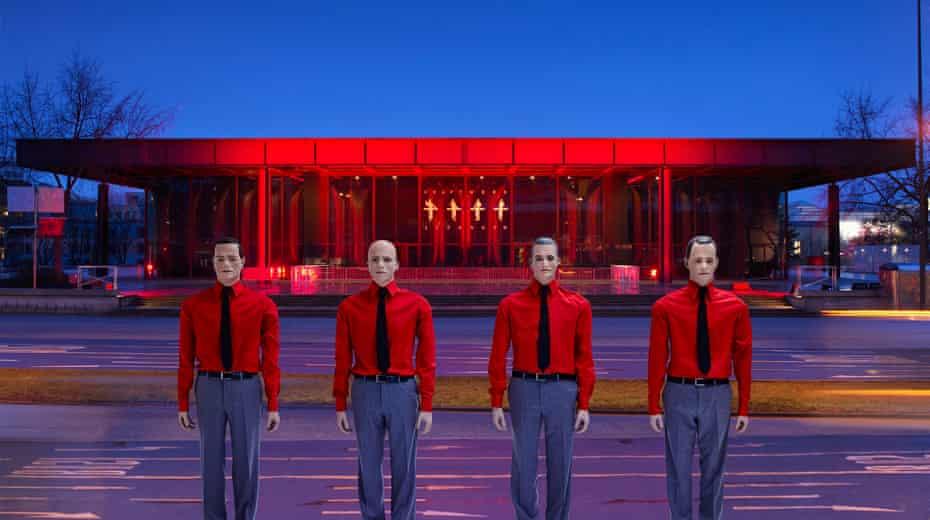 Showroom dummies: the Kraftwerk robots, Berlin, 2015