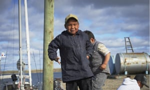 Inuit children in Cambridge Bay, Nunavut, Canada