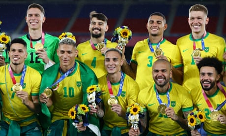 Brazil edge Spain in men's Olympic football final thanks to Malcom's magic