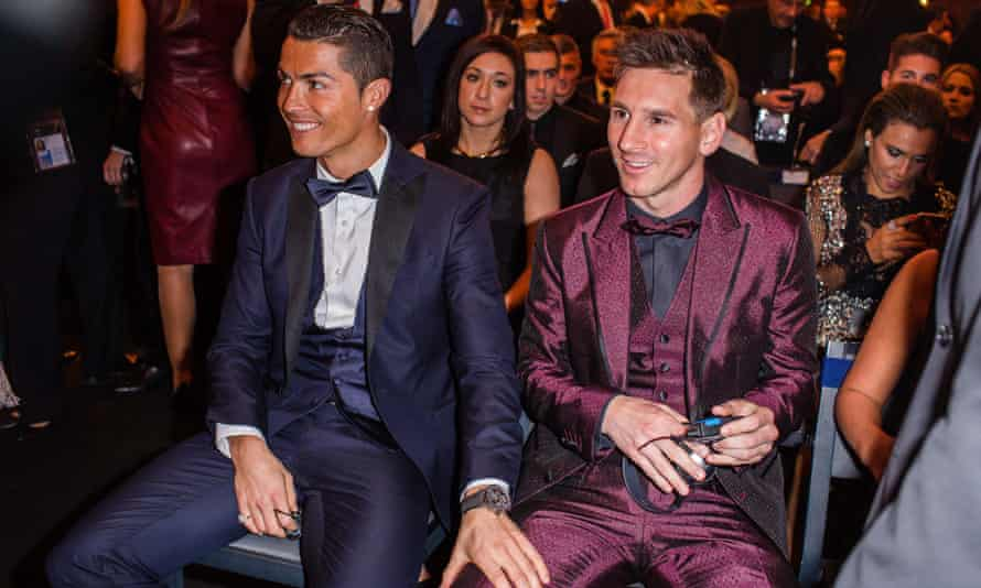 Cristiano Ronaldo talks of his pain at seeing Lionel Messi win the Ballon d'Or four times in a row: 'After he won the second and third I thought to myself: I'm not coming here again.'
