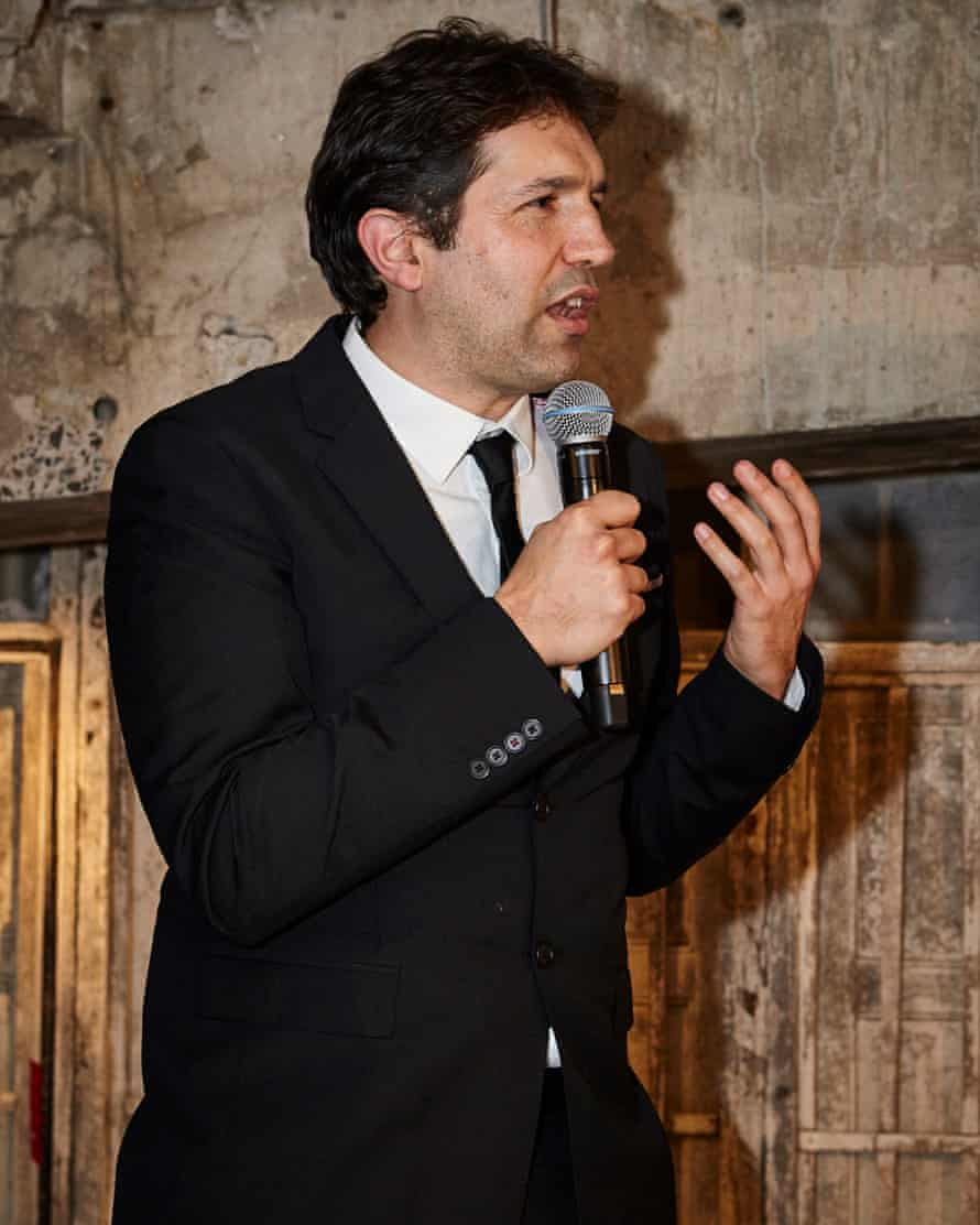 Ben Shewry of Attica at the awards ceremony
