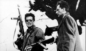 Ashes and Diamonds, 1958, starring Zbigniew Cybulski, left, was one of Wajda's finest works.