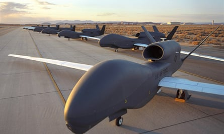 American military aerial drones.