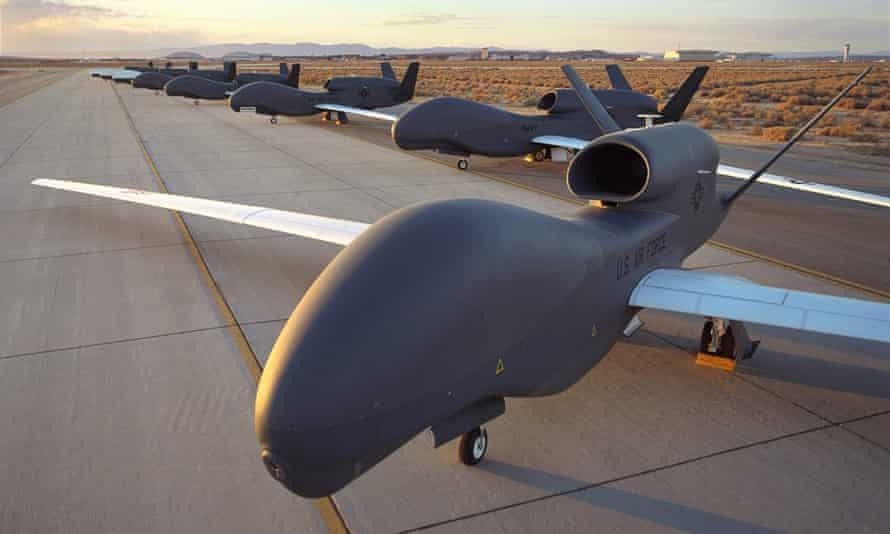 RQ-4 Block 10 Global Hawk unmanned drones