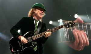 AC/DC … Angus Young at the final show of AC/DC's Rock or Bust tour in Philadelphia.