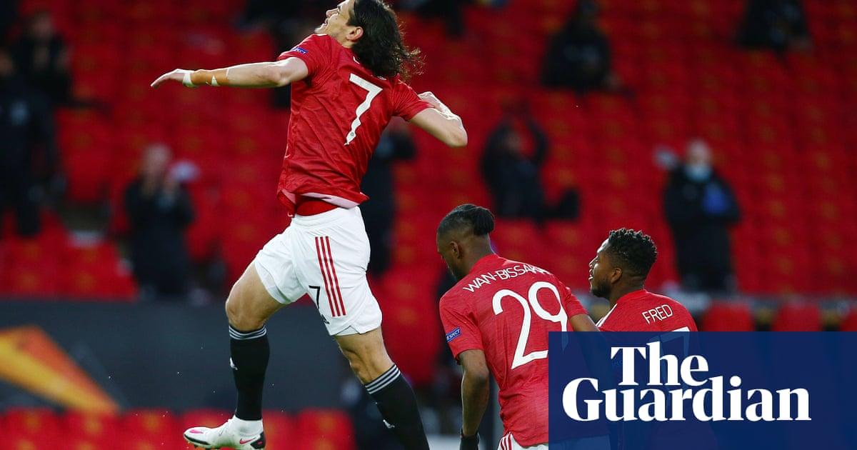 Edinson Cavani eases Manchester United past Granada and into semis